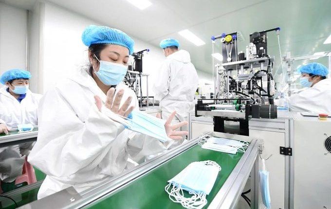Cơ sở sản xuất khẩu trang y tế